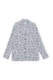 Printed Crep Bluse Og Skjorter