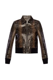 'Pascao' leather jacket