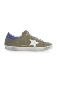 SUEDE UPPER LEATHER STAR AND HEEL