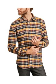 Autumn Shades checked flannel shirt