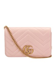 Marmont Leather Crossbody Bag