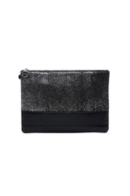 Sort & Metallic STUDIO EBN Nina Stor Clutch