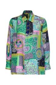 Barocco Petchwork Print Shirt