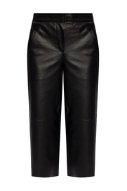'Leah' leather trousers