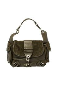 Pre-owned Suede And Leather Rebelle Hobo