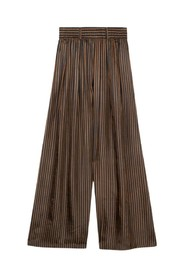 Wide striped pants