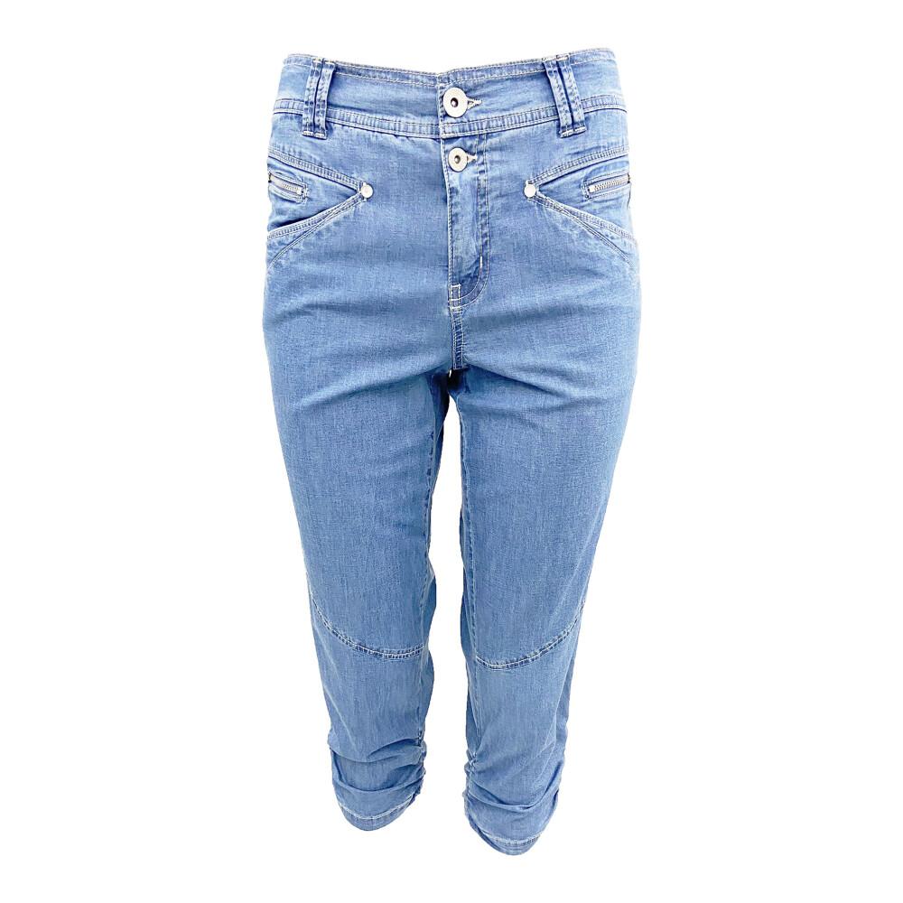 Blue Haber Bushes  2-Biz  Spodnie szerokie przed kostkę  Showroom.pl NCwd6