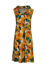 Thea dress with flowers