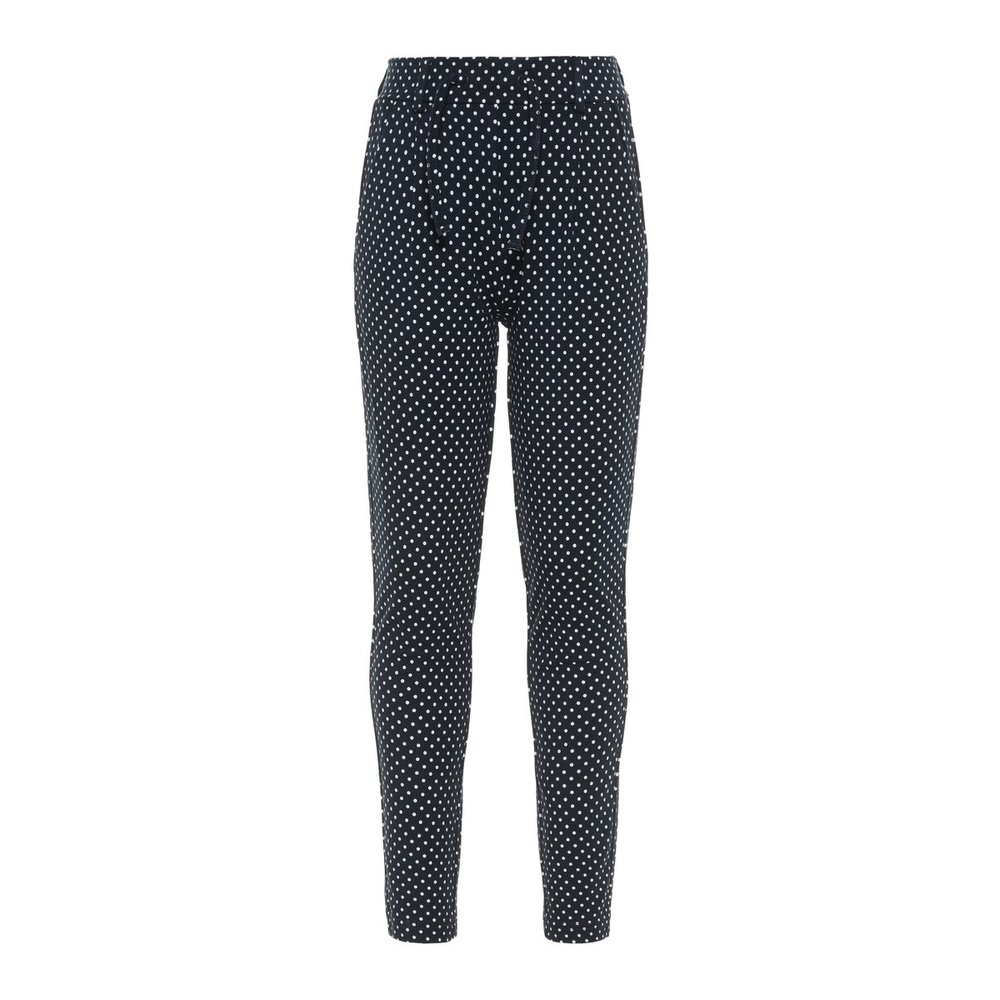 Trousers dotted drawstring