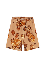 FLOWER PRINTED SHORTS