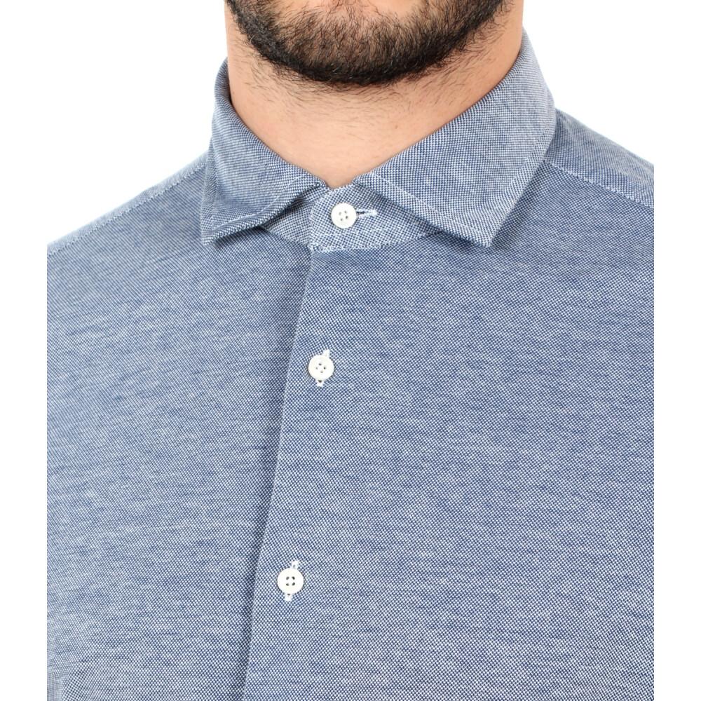 Denim SHIRT | Xacus | Casual Overhemden | Herenkleding