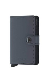 Secrid Miniwallet Matte Grey-Black 8718215285861