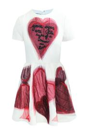 Mini Heart Skater Dress Pre Owned Condition Gently Loved