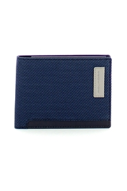 Ade RFID recycled fabric wallet