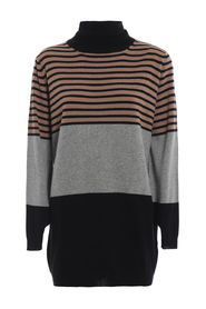 Silk and cashmere blend oversized sweater