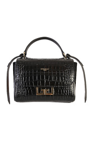 eden crocodile print bag