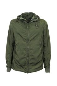 USA men's bomber jacket with contrasting military hood