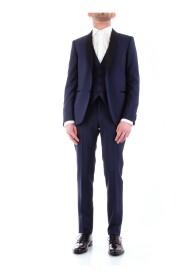 CORNELIANI 838Z75-9164135 DRESS Men BLUE NAVY
