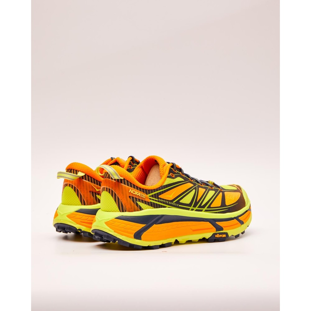 Yellow MAFATE SPEED 2 | Hoka One One | Sneakers | 2020 Nytt Herrskor jVOkT