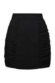 F5768 Heavy Crepe Mini Skirt