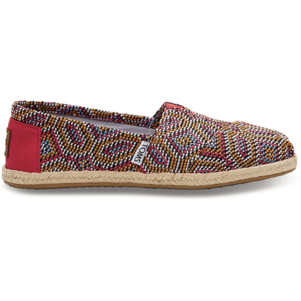 Rosa Toms Classics Woven Loafer