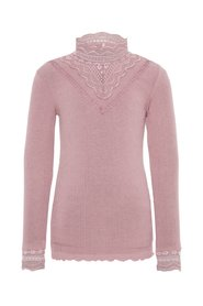 Top extra slim fit lace neck