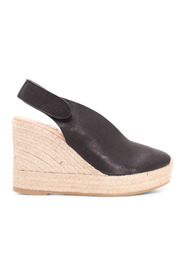 Butter  Leather Wedges