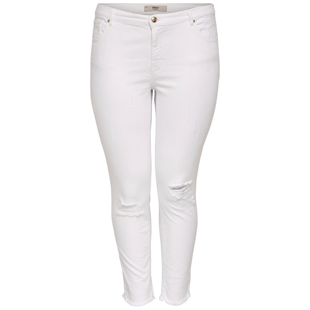 Slim fit jeans Curvy destroyed