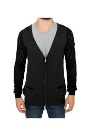 zipper cardigan sweater