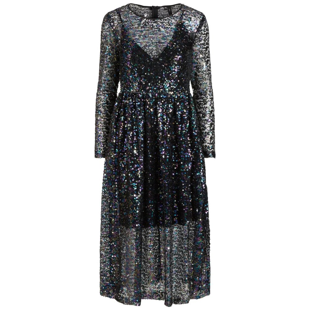 Midi dress Sequin mesh