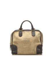 Amazona Suede Handbag