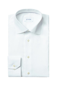 Slim Fit Plain Poplin Shirt