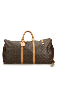 Monogram Keepall Bandouliere 60 Canvas Bag