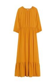 Flowy lång klänning