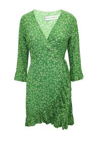 The Brand Print Wrap Dress -Pre Owned Condition Very Good