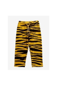 TIGER VELOUR TROUSERS