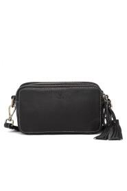 Poesi Black Cremona Shoulder Bag