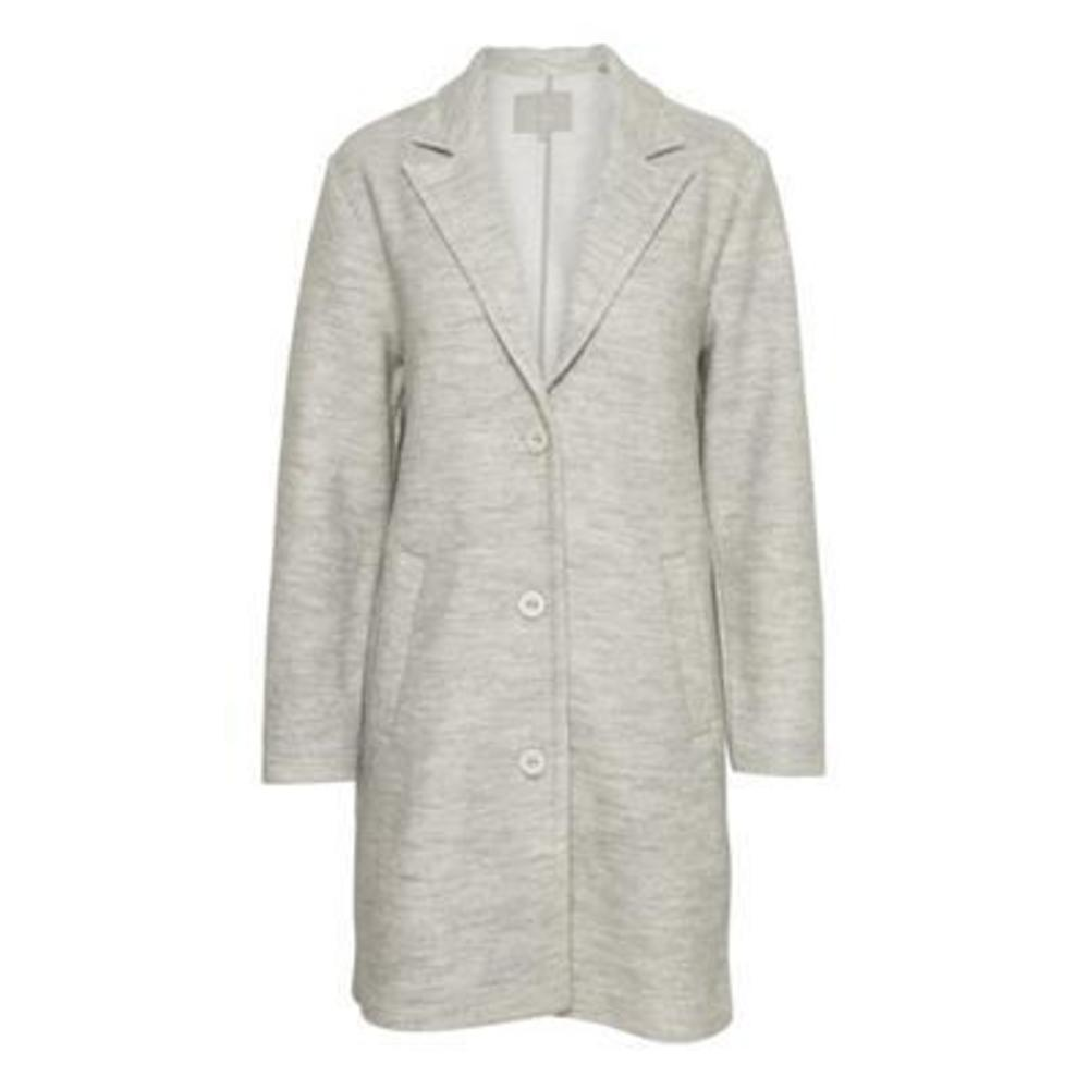 In Wear Cardea Coat New Light Grey Melange