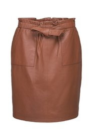 Mirabella leather skirt