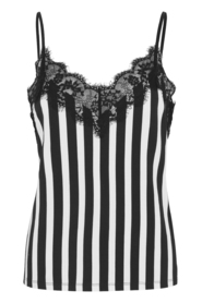 Dallas Slip Top Noir