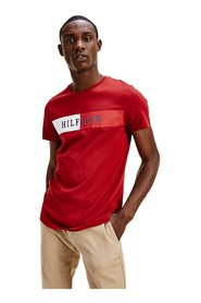 TOMMY HILFIGER MW0MW13331 BLOCK STRIPR T SHIRT AND TANK Men RED