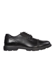 men's classic leather lace up laced formal shoes derby h393