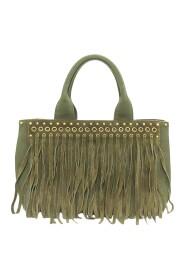 Pre-owned Fringed Canapa Handbag Bag
