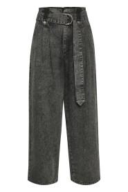 Aleah HW culotte jeans
