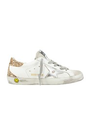 SUPERSTAR LEATHER LAMINATED STAR GLITTERHEEL sneakers