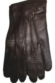Uklædt klassisk Hjortsin-handske