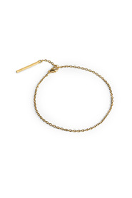 Anchor Chain Bracelet, gold-plated sterling silver