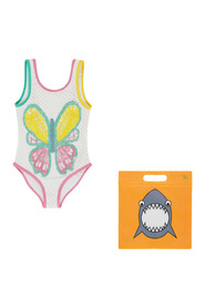 Swimsuit With Butterfly Crochet