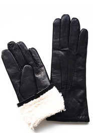 Glove glove Warm gloves Sheepskin gloves Lambskin gloves Black