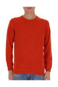 Crew-neck cashmere sweater